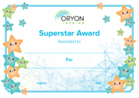 Oryon Imaging Children's Certificate