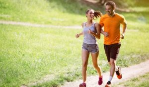 Running Couple Hip Pain