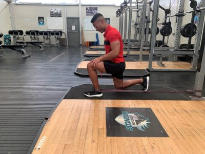 banded ankle mobility