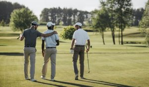 Back pain golf