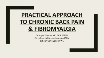 9th Annual Spinal Symposium - Roger Wolman