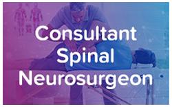 Consultant Spinal Neurosurgeon